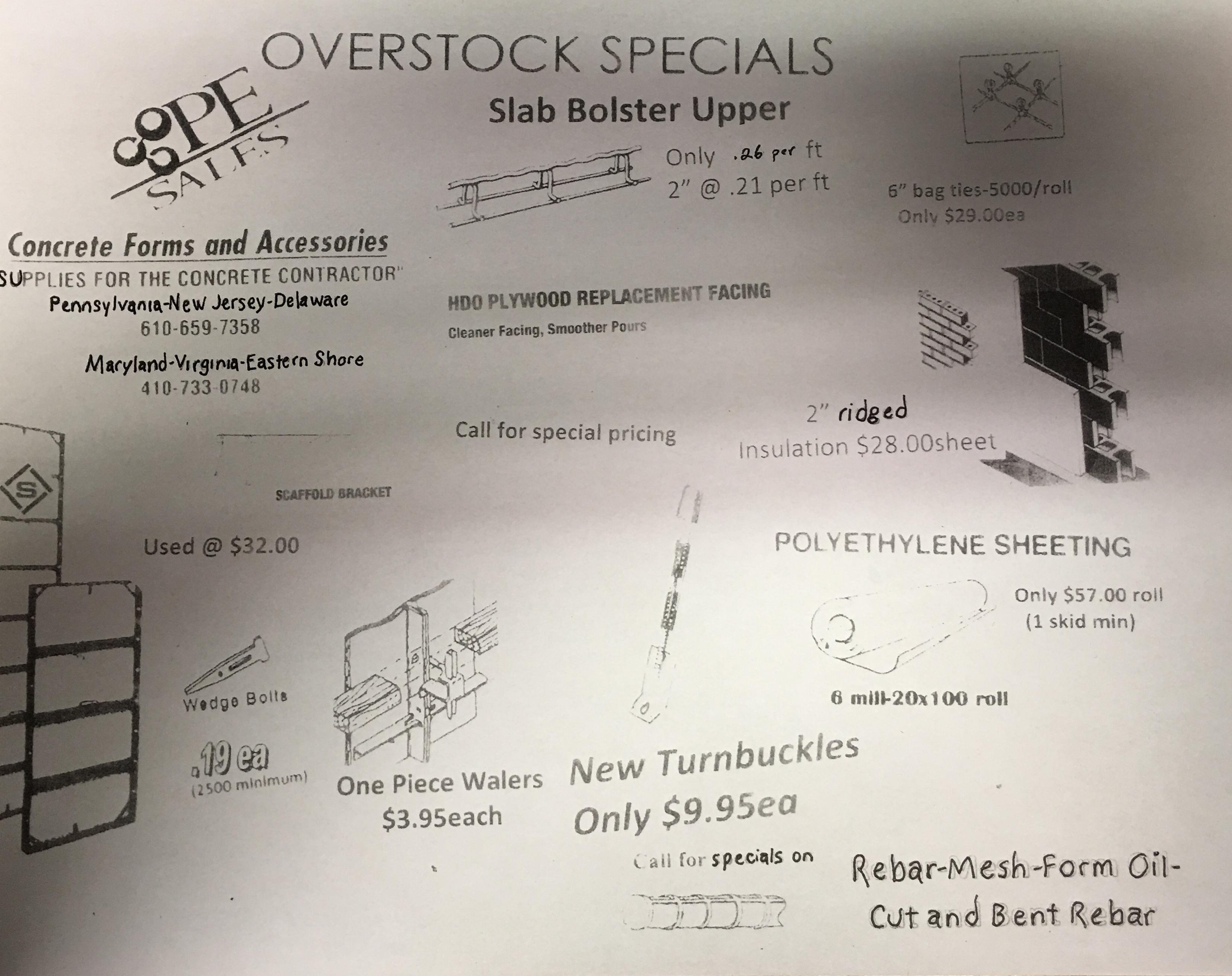 Steel Ply Specials - PE Sales